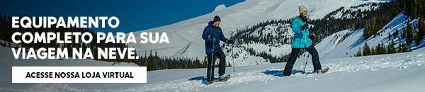 Equipamentos Viagem na Neve