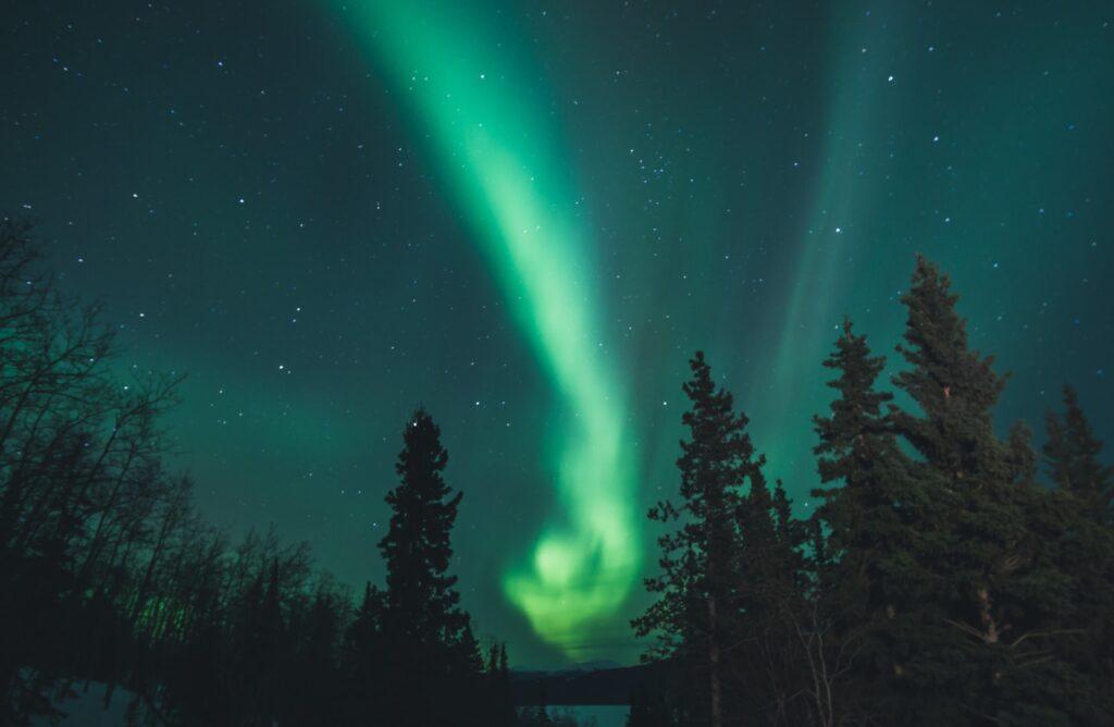 Aurora Boreal - by Leonard Laub