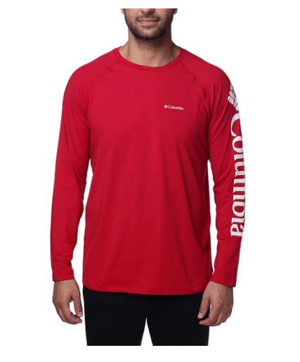Camiseta Columbia Masculina M/L Aurora