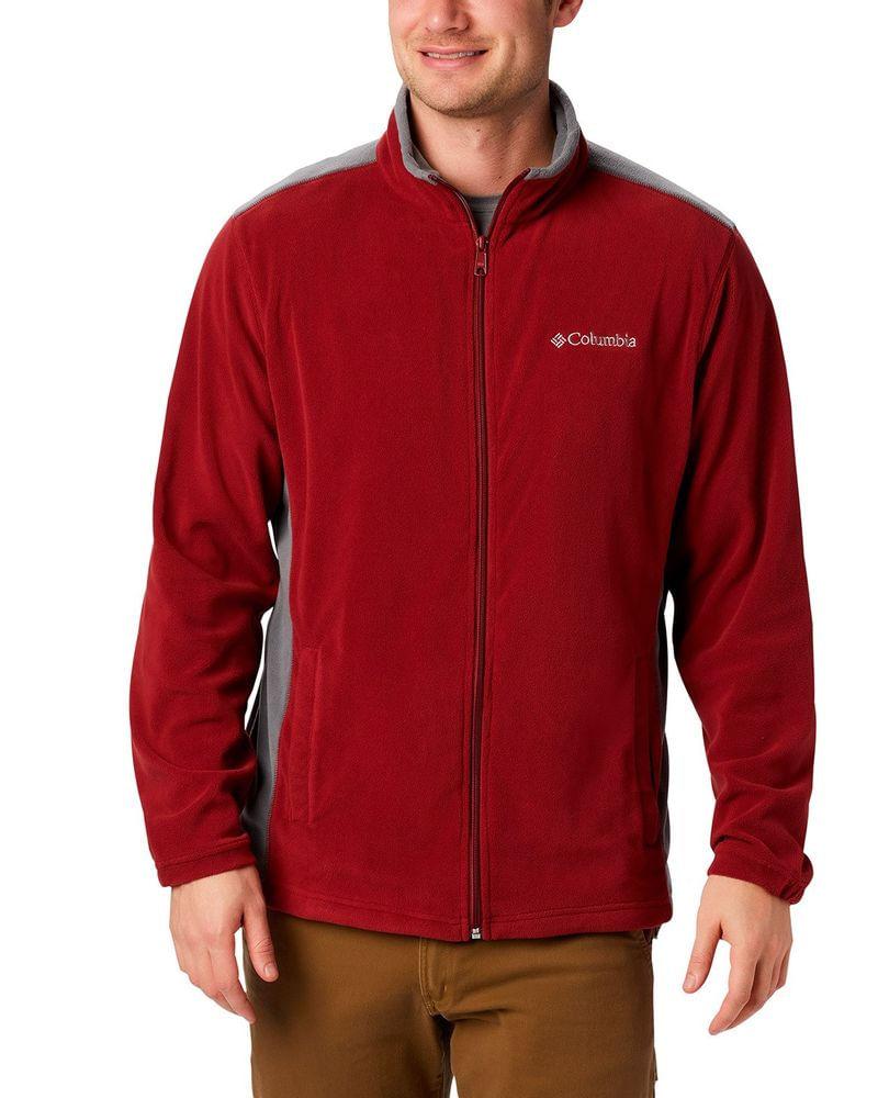 Jaqueta Fleece Columbia Masculina Klamath Range™ Full Zip