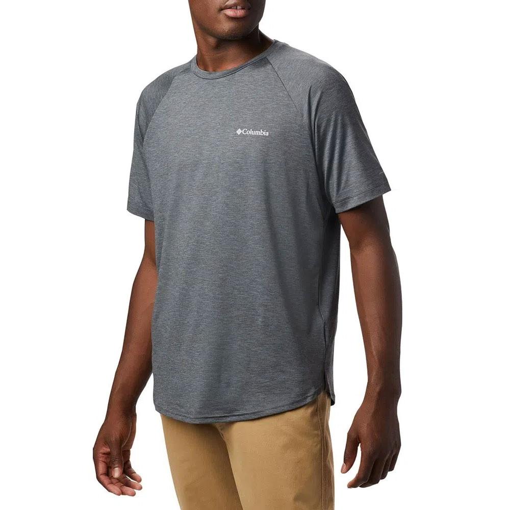Camiseta Columbia Masculina Tech Trail II Crew