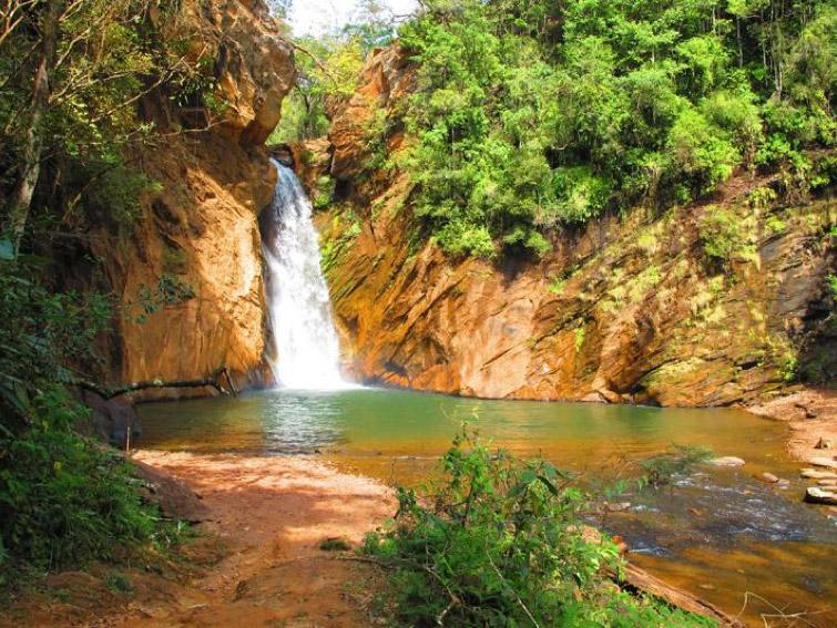 Trilha da Cachoeira de Santo Antônio
