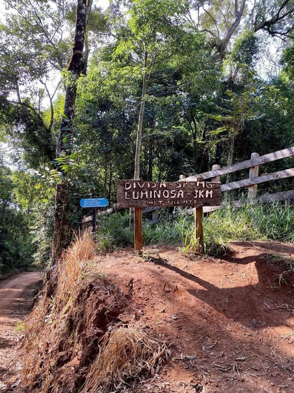 Divisa entre São Paulo e Minas Gerais